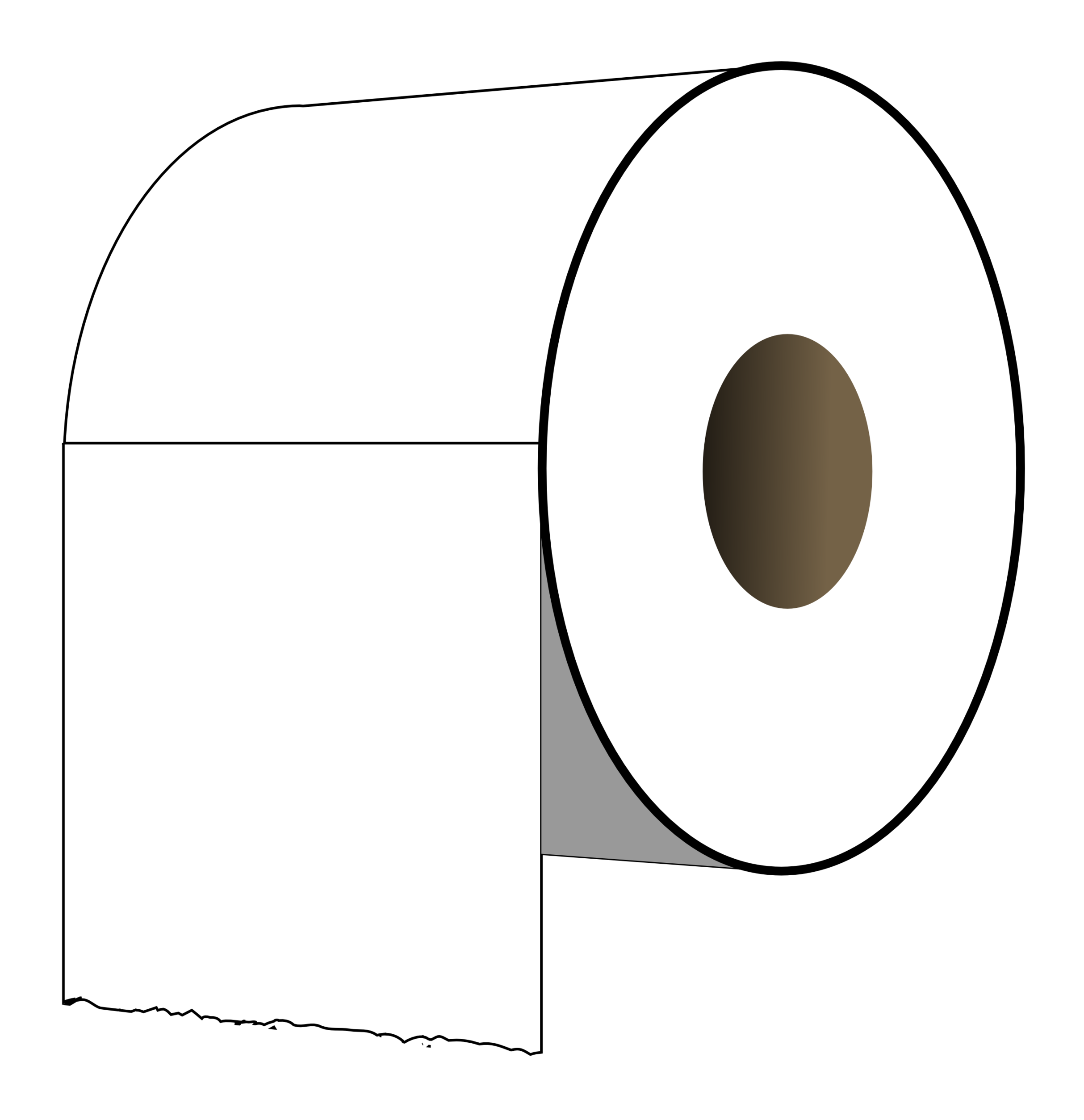 vector library clipart toilet paper #66454496