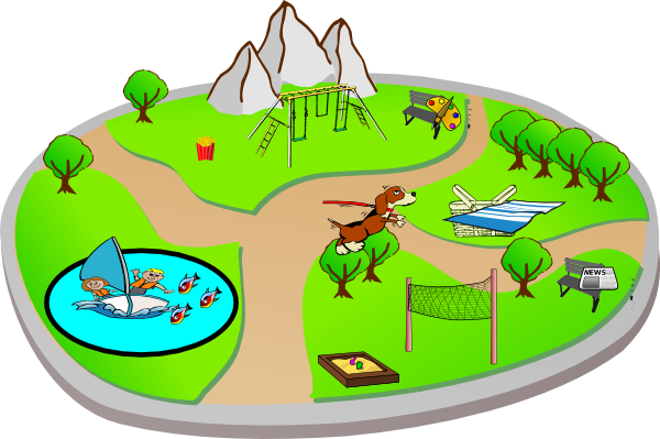 clip art free download Zoo clipart free. Park