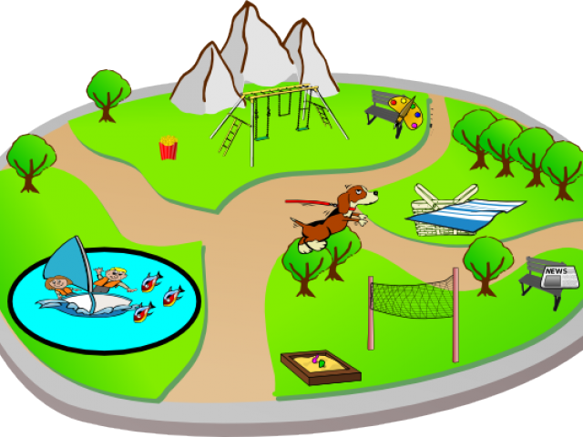 graphic library Valley clipart park scene. Free on dumielauxepices net