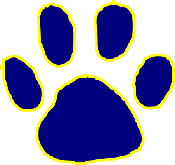 graphic royalty free Free How To Draw A Tiger Paw