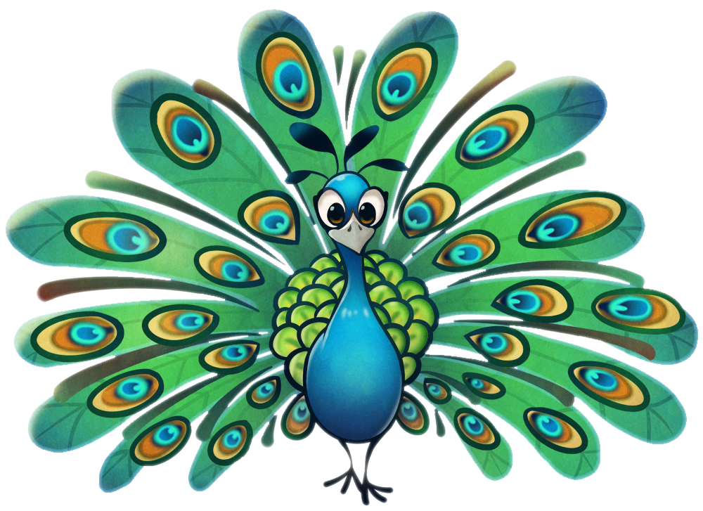 clipart transparent library peacock pictures