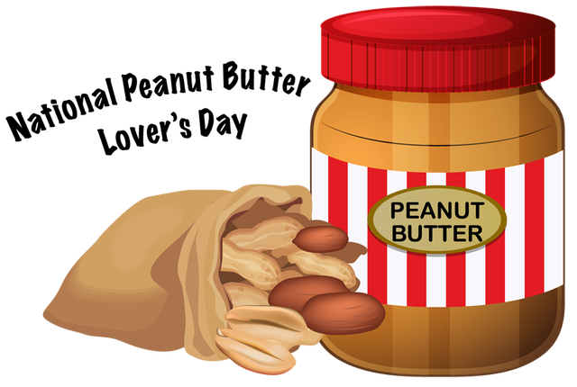clip transparent Saiprojects national lover s. Clipart peanut butter.