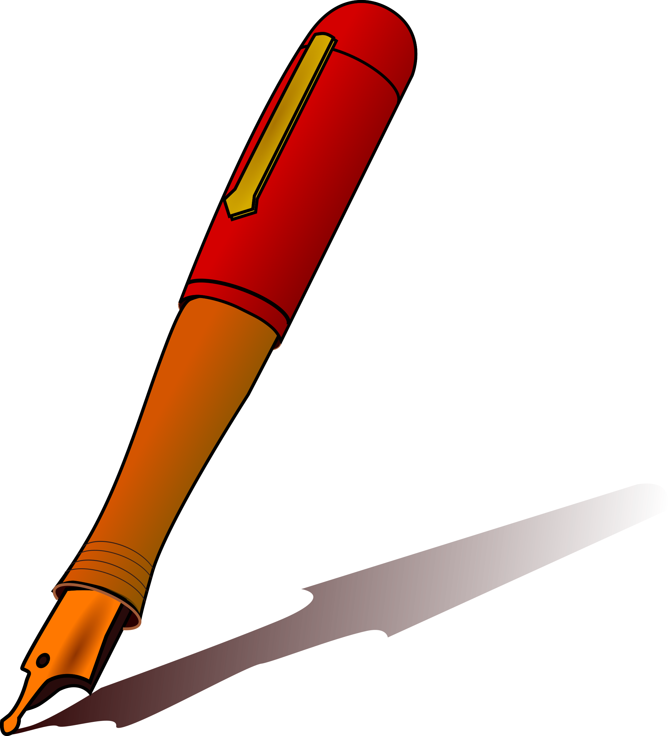 vector free download Pen big image png. Writer clipart kalam