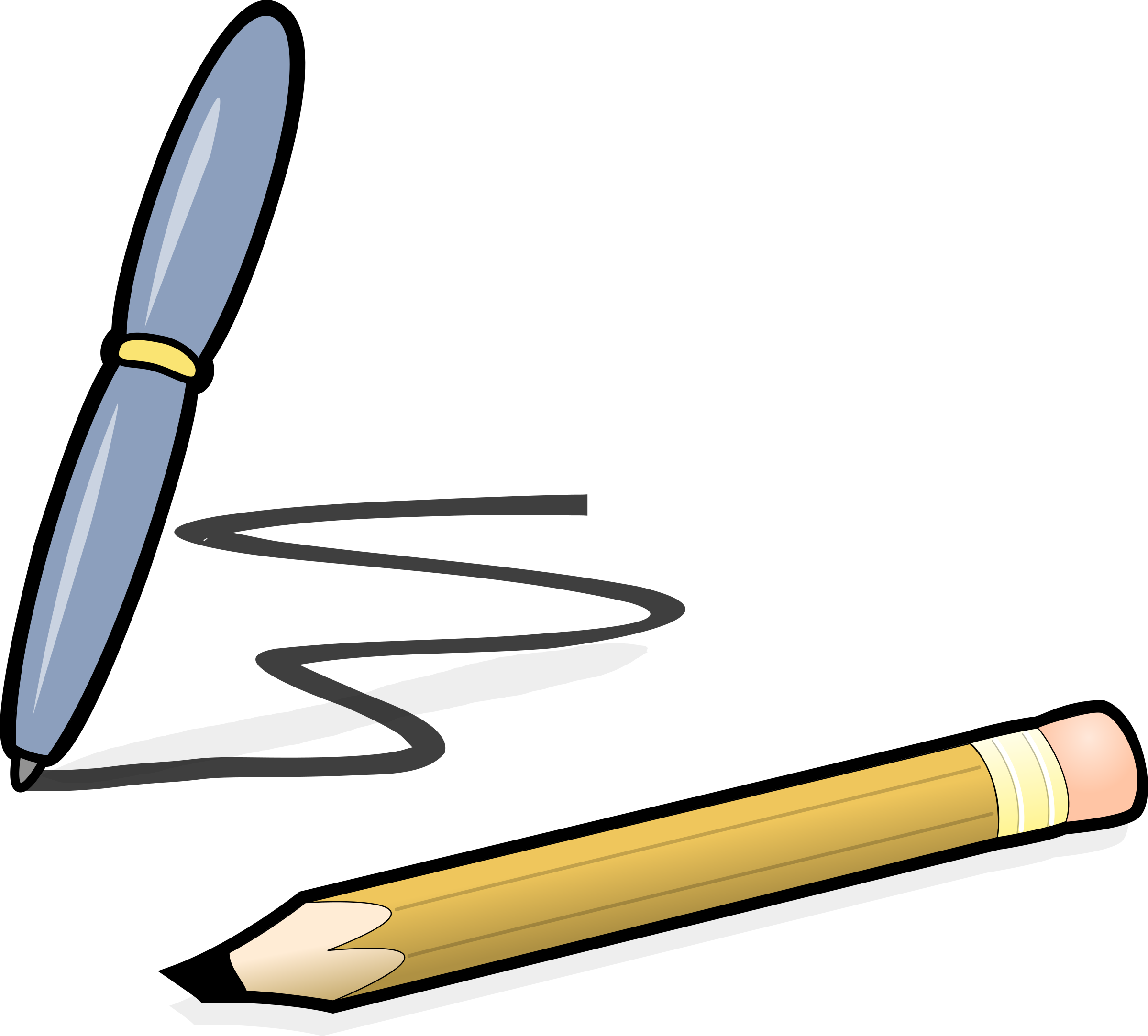 svg library download Pen big image png. Writing pencil clipart