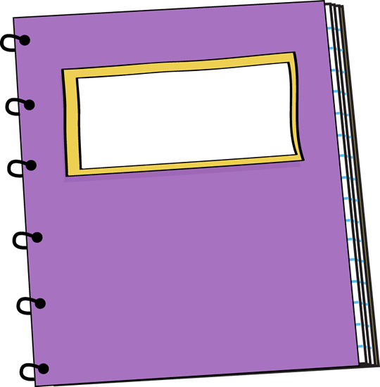 clip art free Purple spiral clip art. Violet clipart notebook.