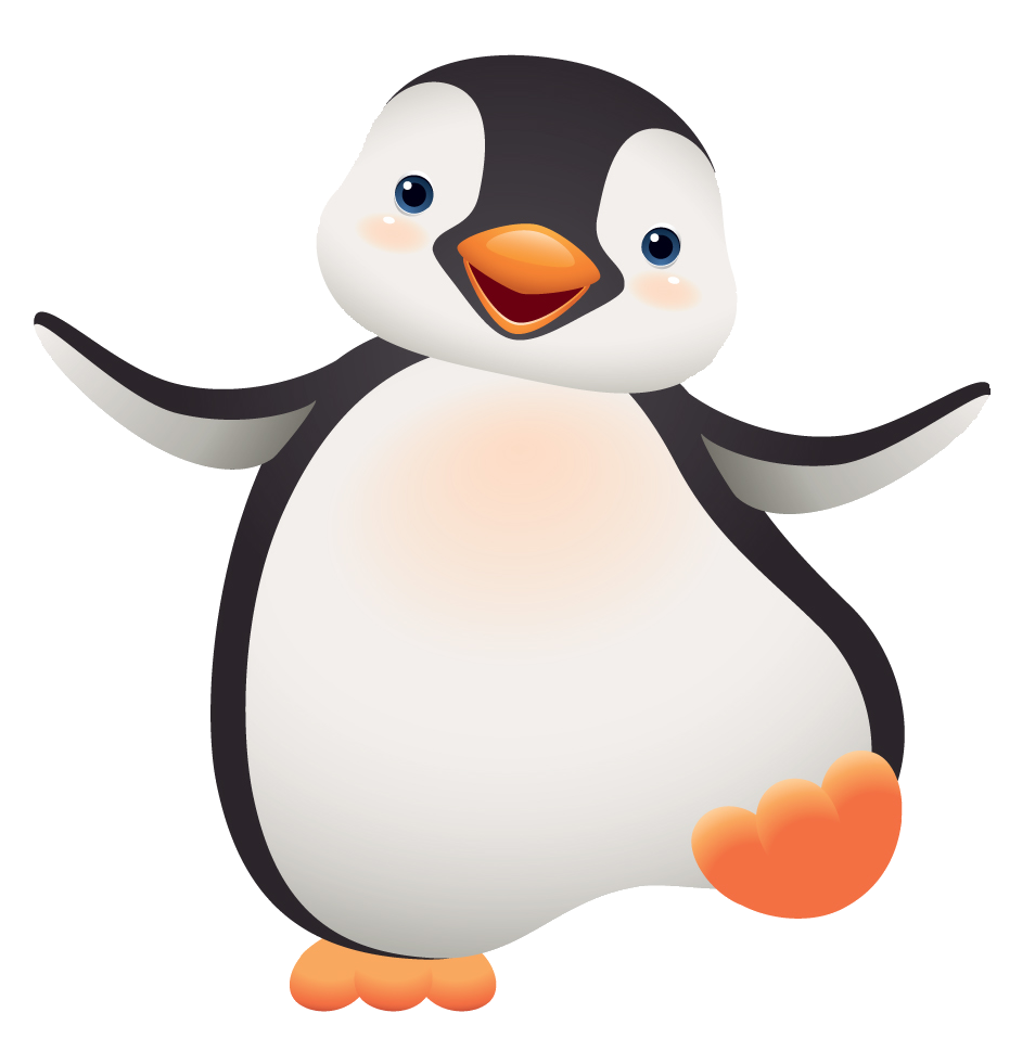banner royalty free download Very cute clip art. Mom clipart penguin.