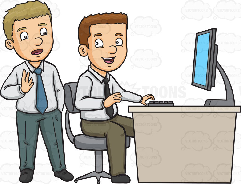 graphic royalty free stock Clipart people working. Work free download best.