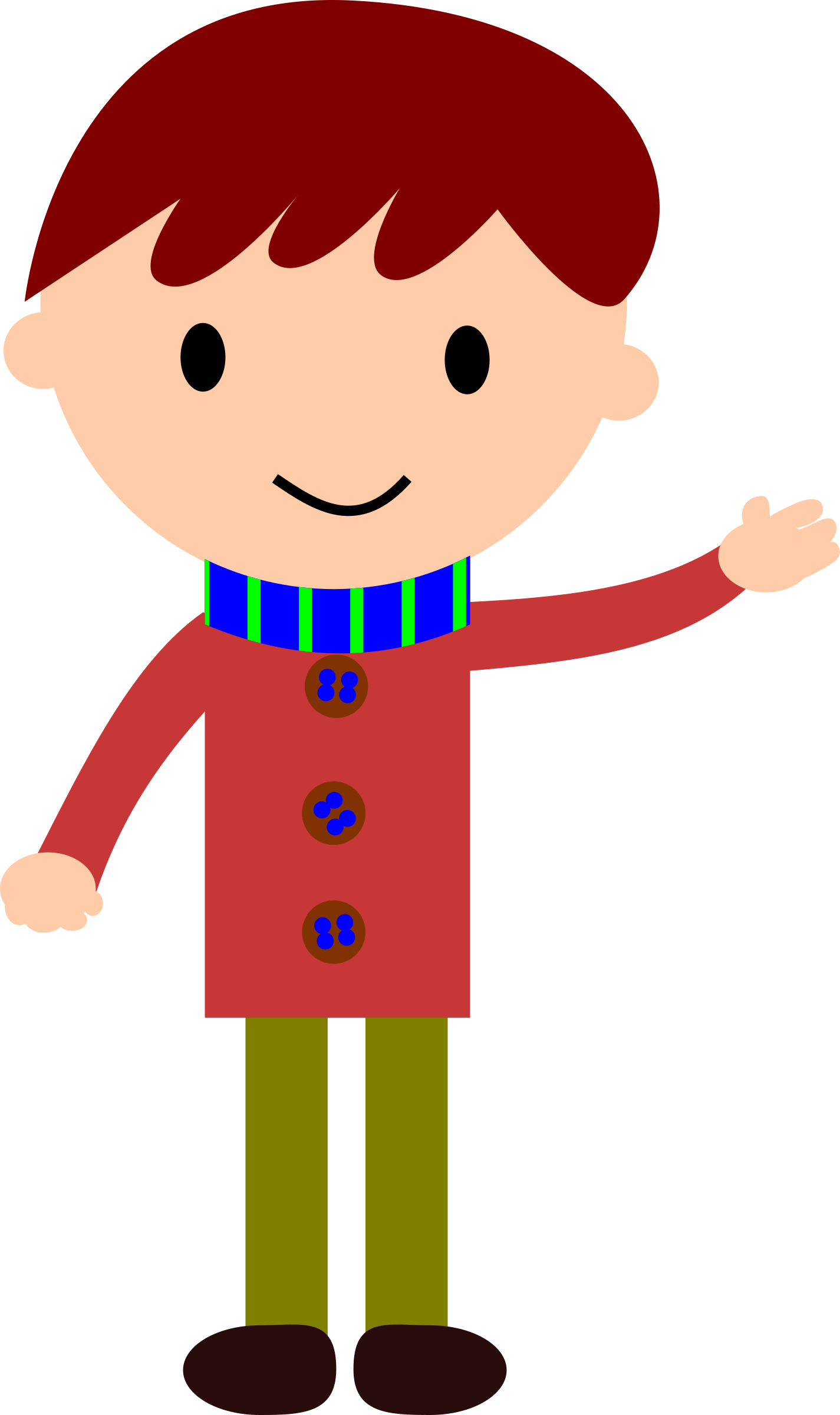 clip art stock Brothers clipart simple boy.  cartoon person exercising
