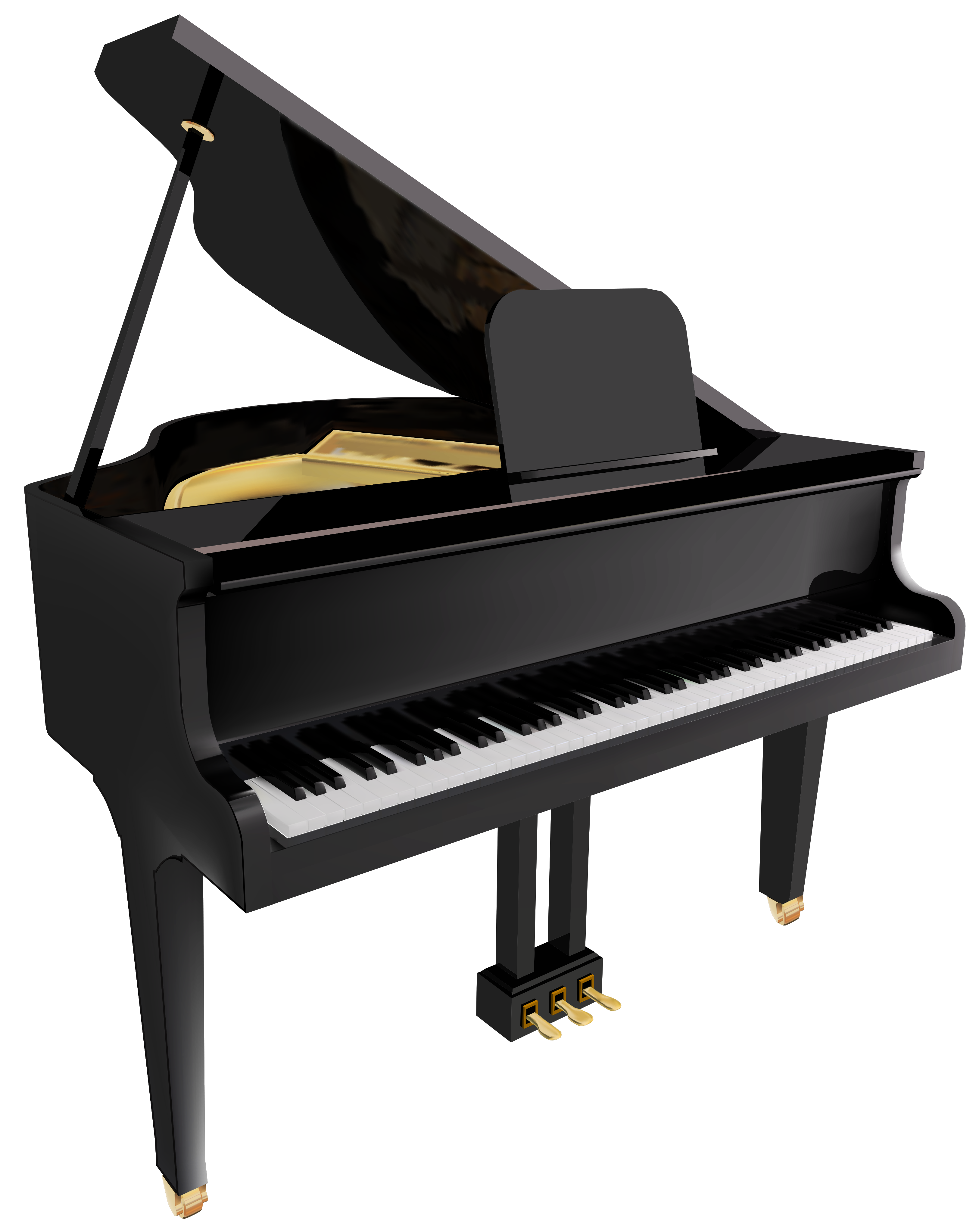 transparent download Piano clip art free. Musical keyboard clipart