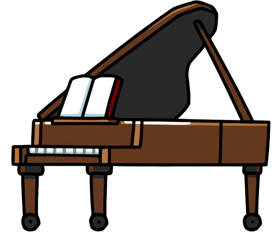 svg transparent Collection of free harpsichon. Clipart piano keyboard