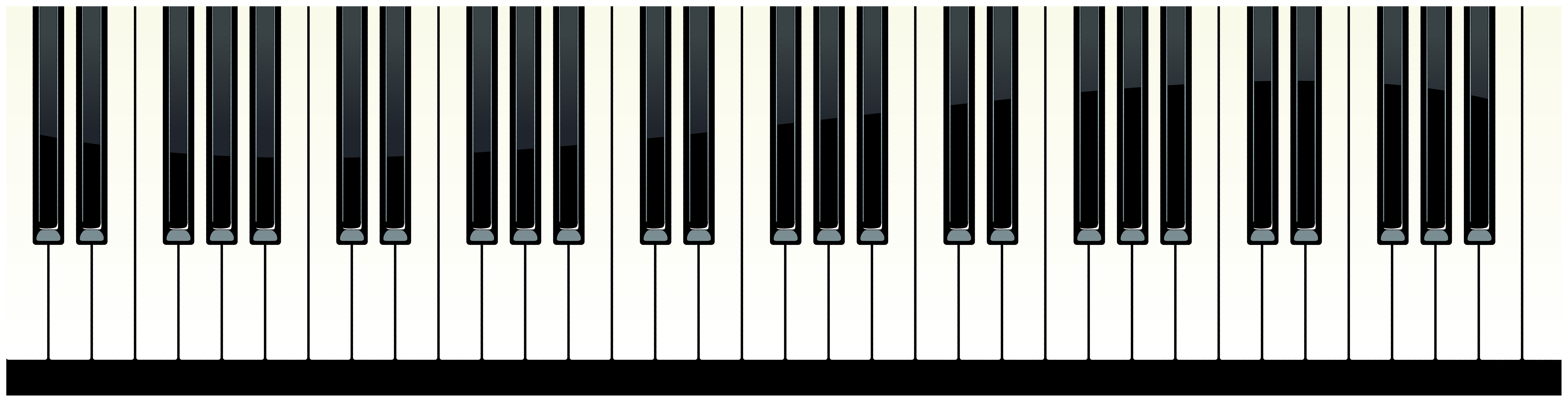 picture freeuse stock Keys png clip art. Clipart piano keyboard