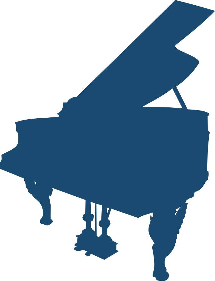 jpg transparent stock Clipart piano keyboard. Clip art library outline