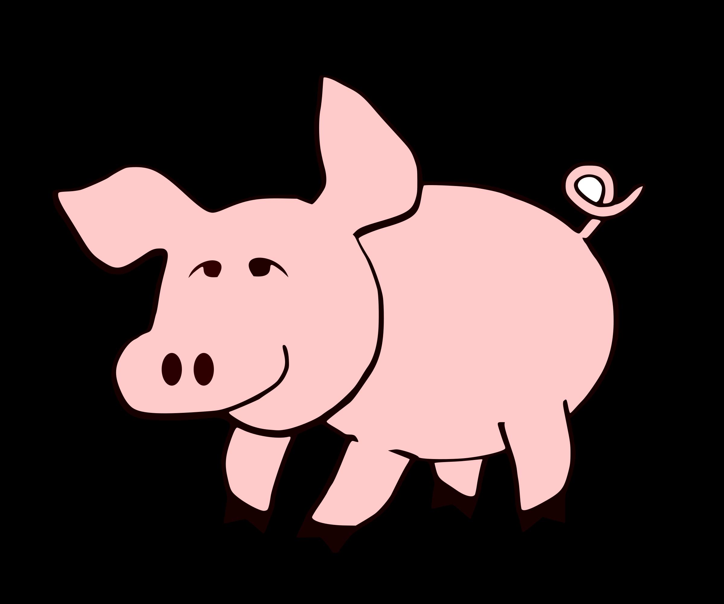 clipart transparent download Clip art of typegoodies. Ham clipart pig