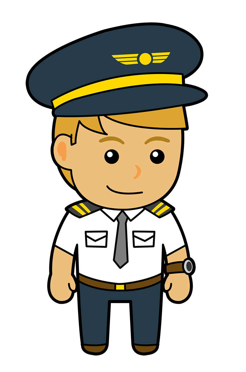 clip art transparent stock Captain clipart airplane. Unique of pilot letters.