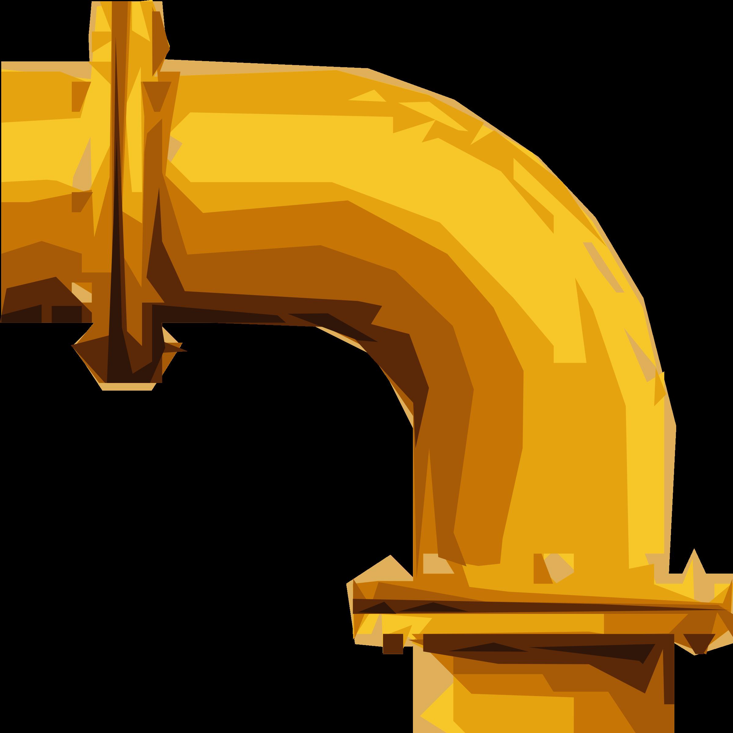 jpg stock Left bend big image. Clipart pipe