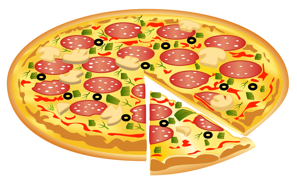 vector royalty free stock Italian clipart peperoni pizza. Png image gallery yopriceville