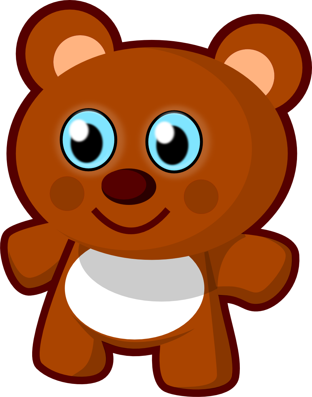 graphic transparent library Scary at getdrawings com. Bear ears clipart