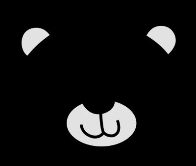 png transparent Polar Bear Face Clipart