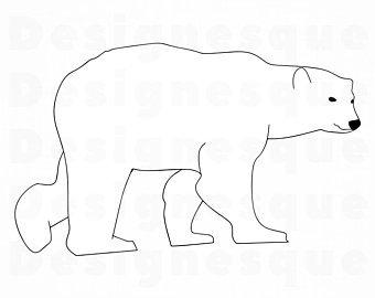 png royalty free stock Svg etsy . Clipart polar bear