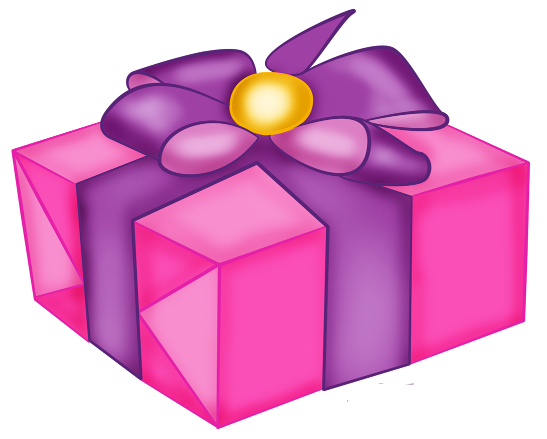 image free download Pink box with purple. Clipart present