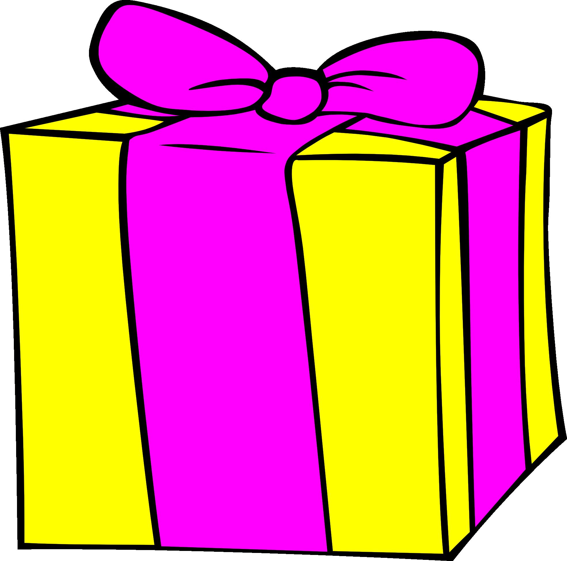 clip free stock Birthday present clip art. Gift clipart
