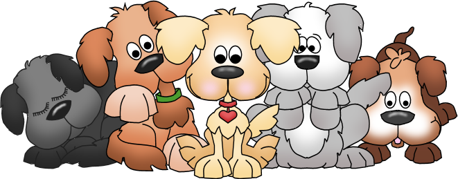 clip art library library Bunch Of Puppies Clipart