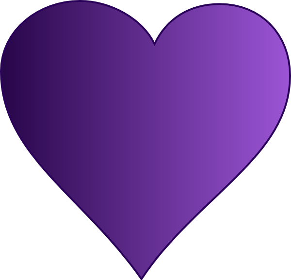 clip transparent library Purple Heart Clip Art at Clker