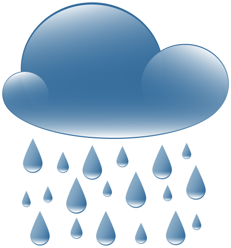 graphic royalty free download Cloud weather icon png. Rain clipart