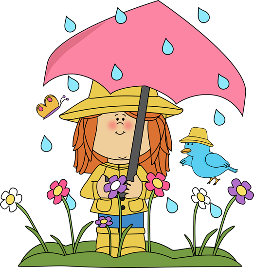 clip art library stock Make believe toys for. Rain clipart spring