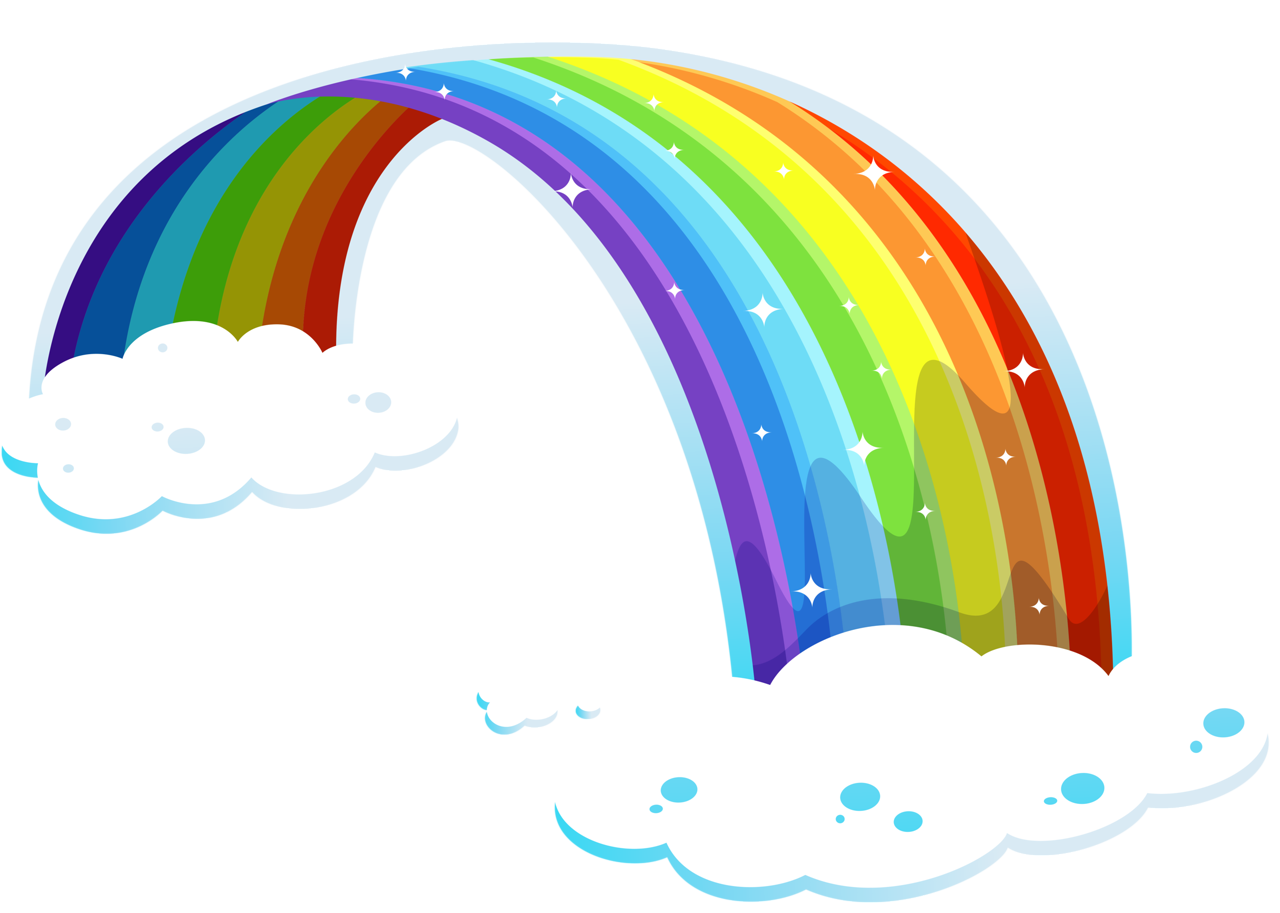svg royalty free library Drawing rainbows waterfall.  best clip art
