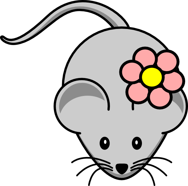 picture black and white library Rat Clip Art Free
