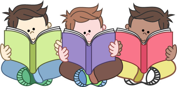 banner royalty free library children reading clipart reading clip art for teachers free clipart