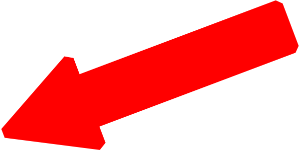vector library library Clipart red arrow. Clip art at clker