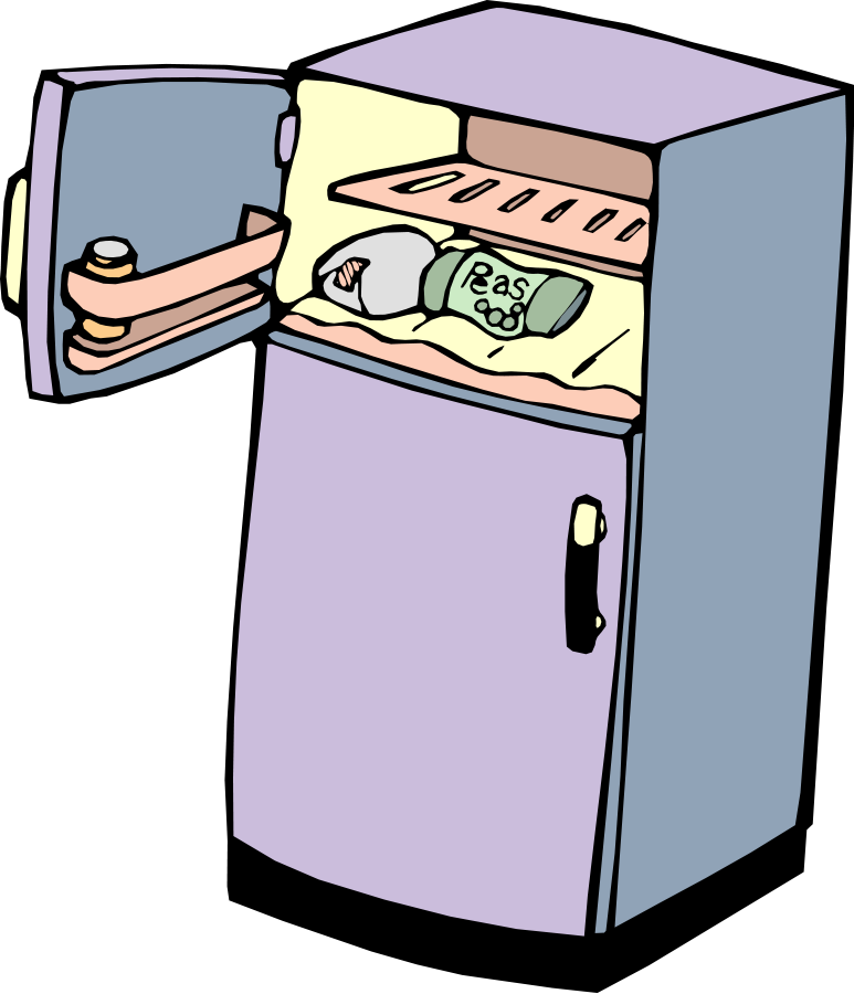 clipart free refrigerator vector fridge #115302602
