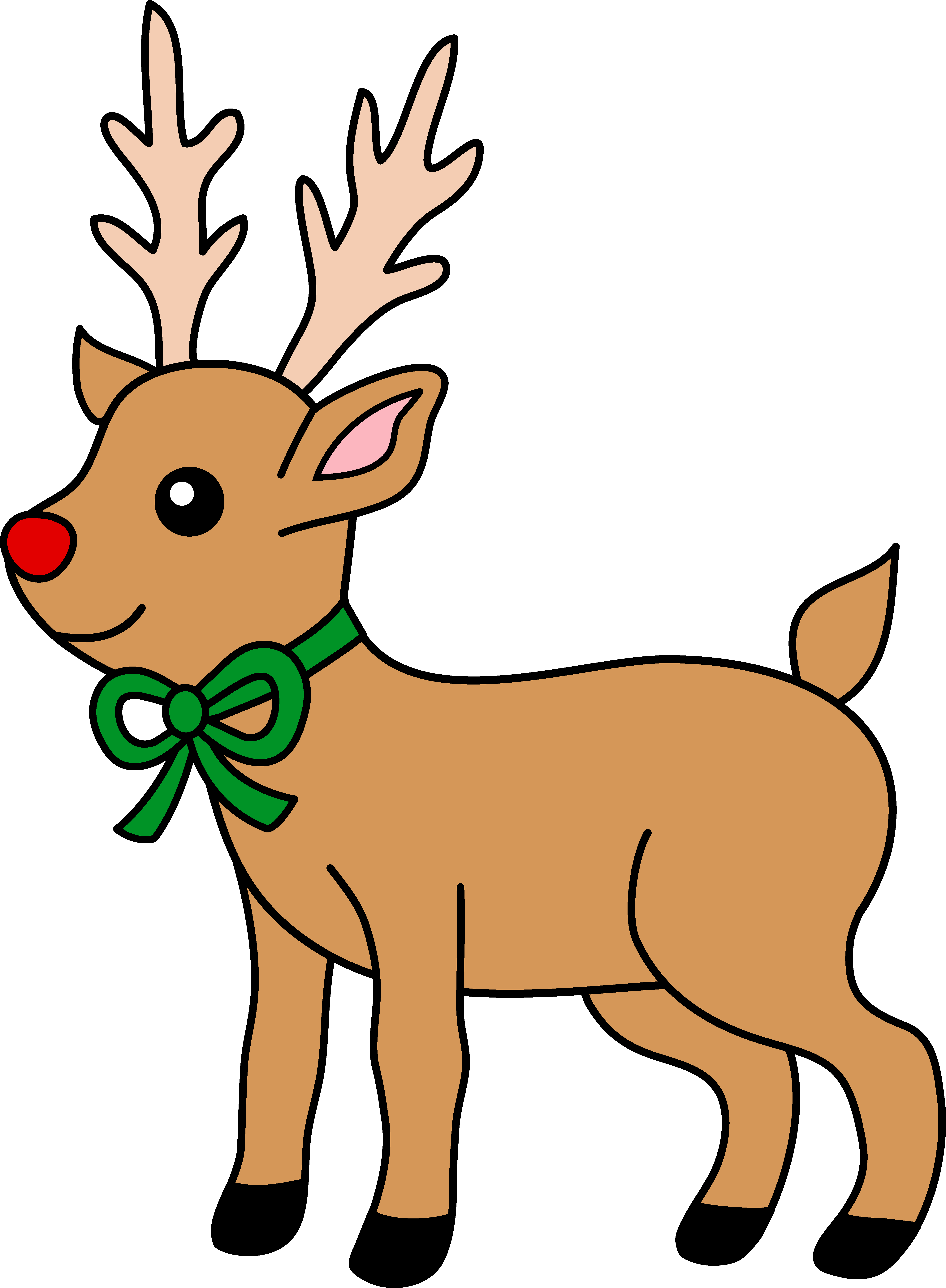 svg freeuse library . Reindeer clipart.