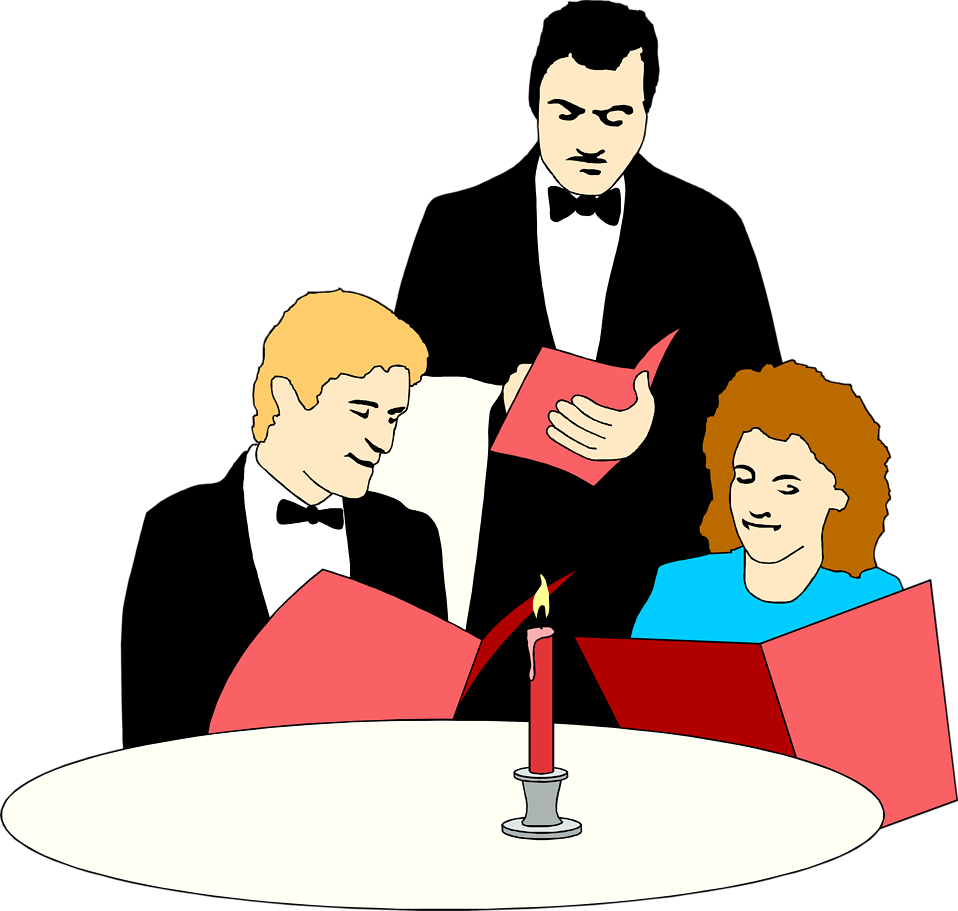 svg black and white library Restaurants clipart cafe waiter.  collection of serving