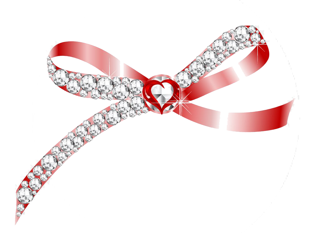 clipart library library Bananna clip ribbon. Diamond art bow transprent