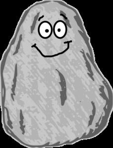 stock Mr rock clip art. Rocks clipart