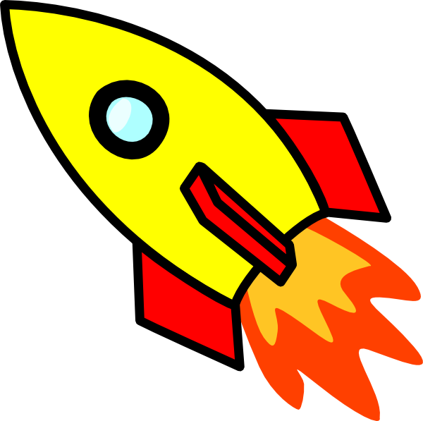 clipart black and white download Cartoon image of best. Vector rockets rocket clipart