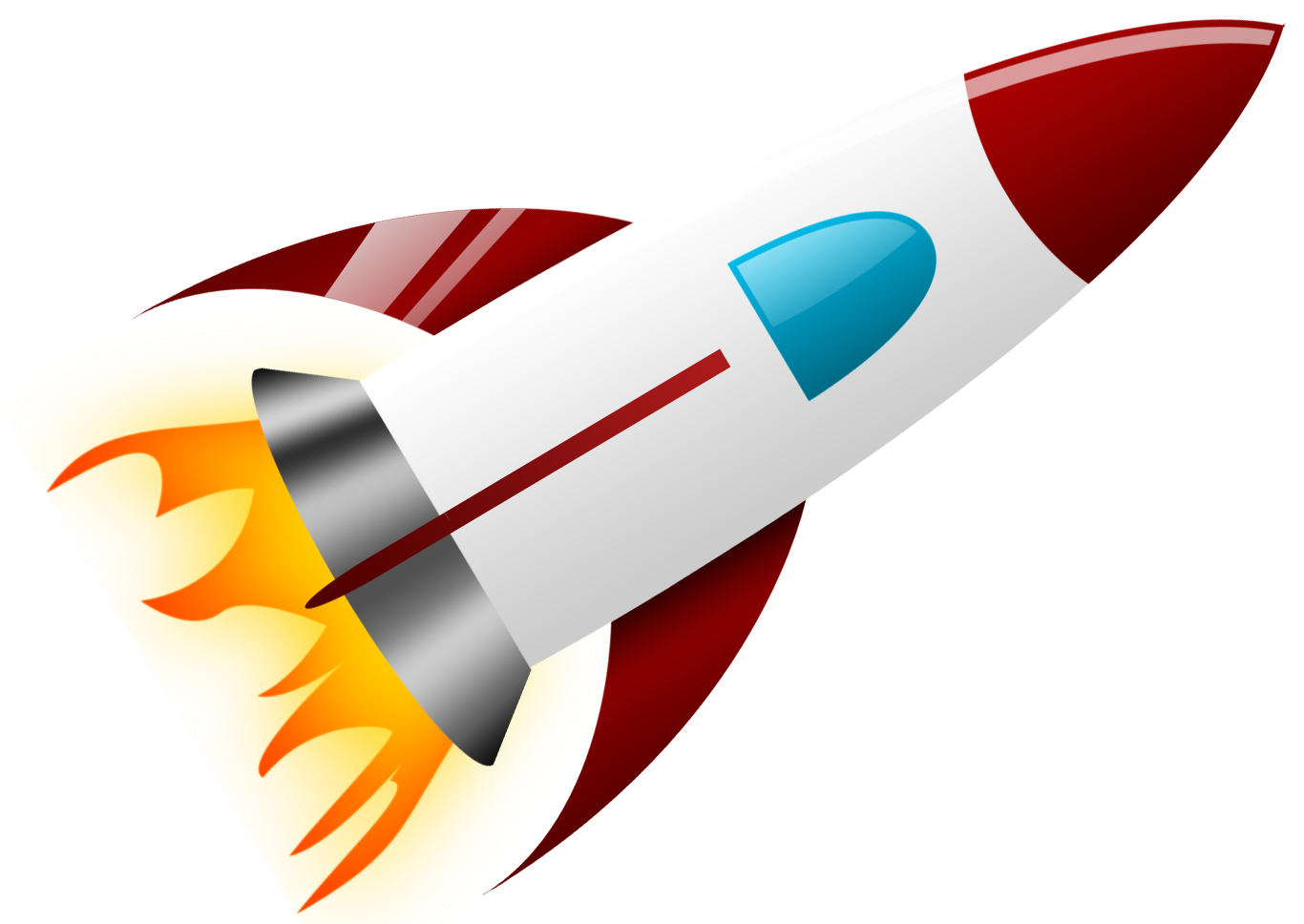 graphic library download Rocket Clipart transparent background
