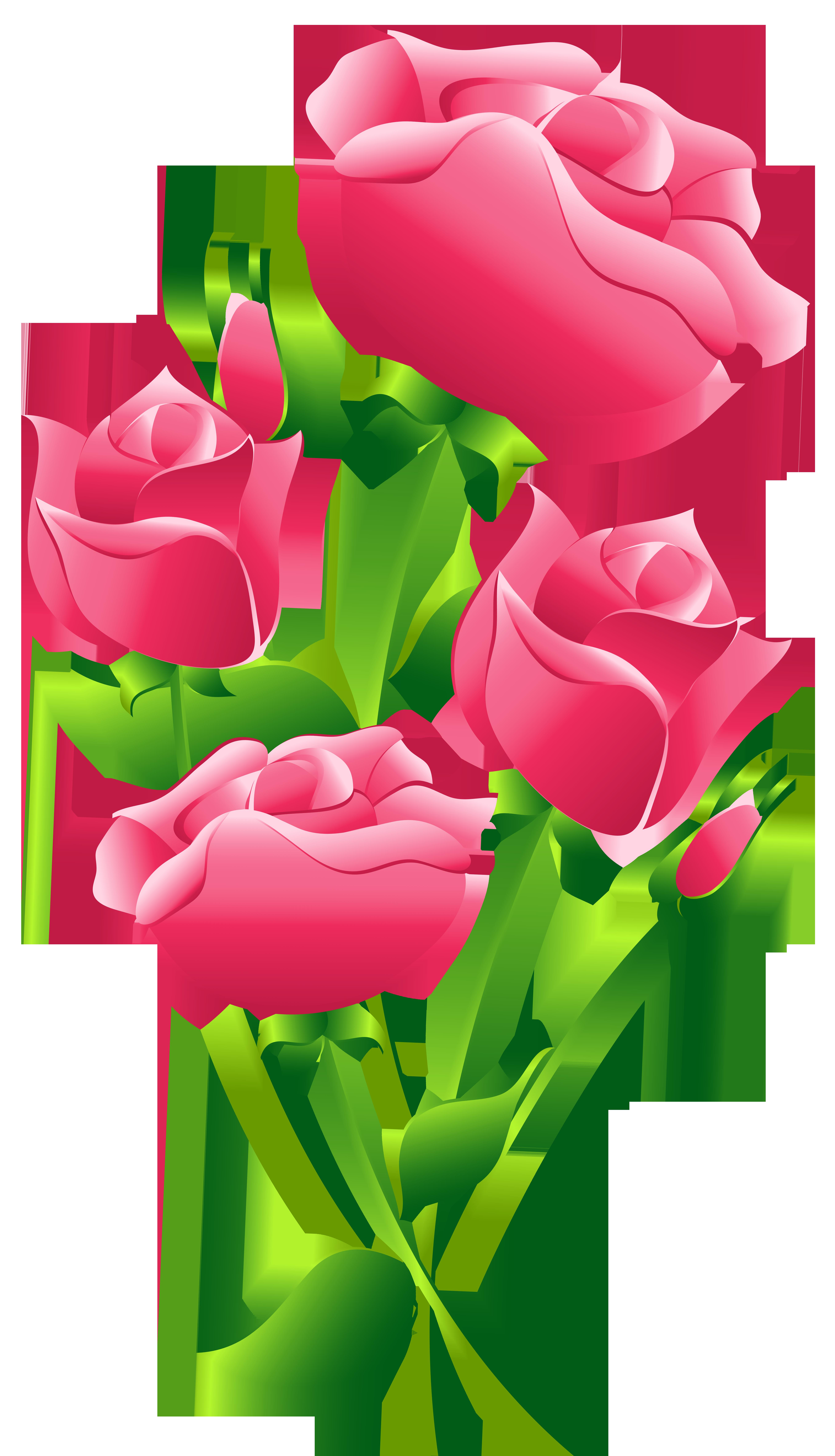 picture transparent Pink Roses Transparent PNG Clip Art Image