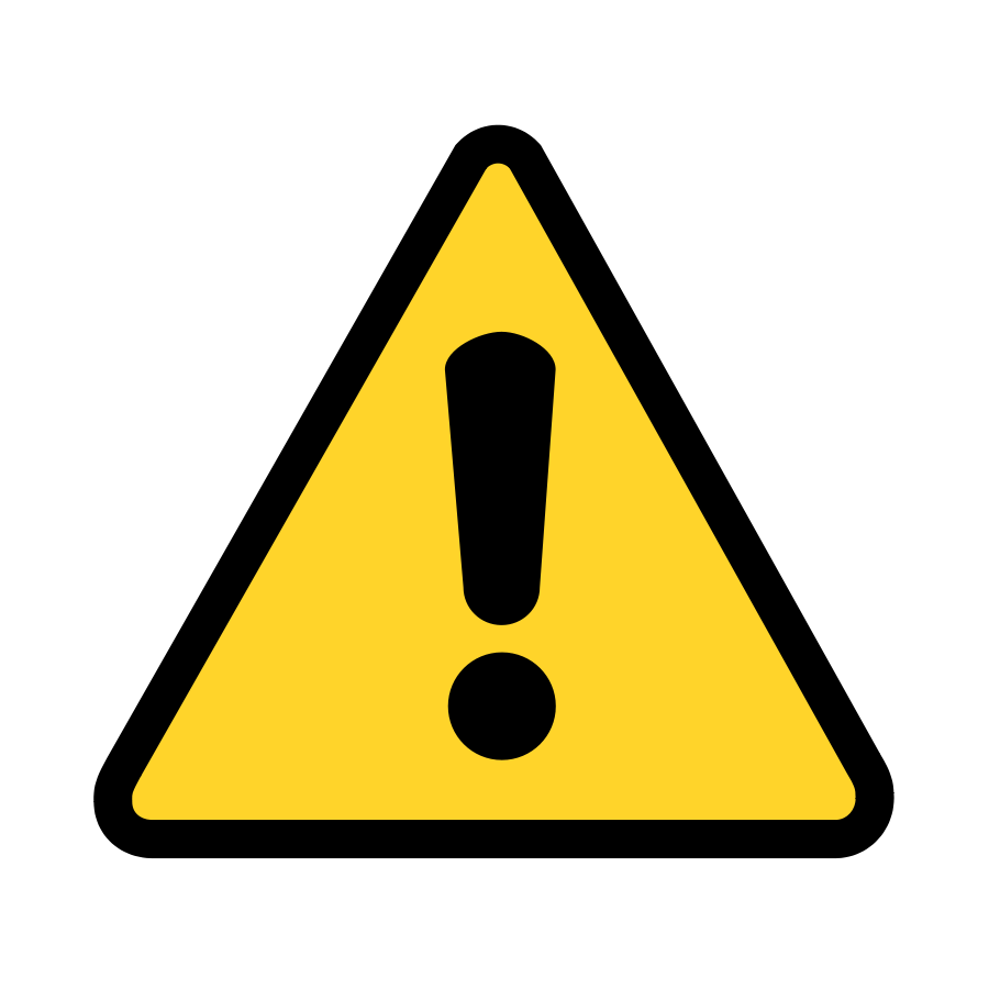 picture transparent Free Warning Sign Clipart