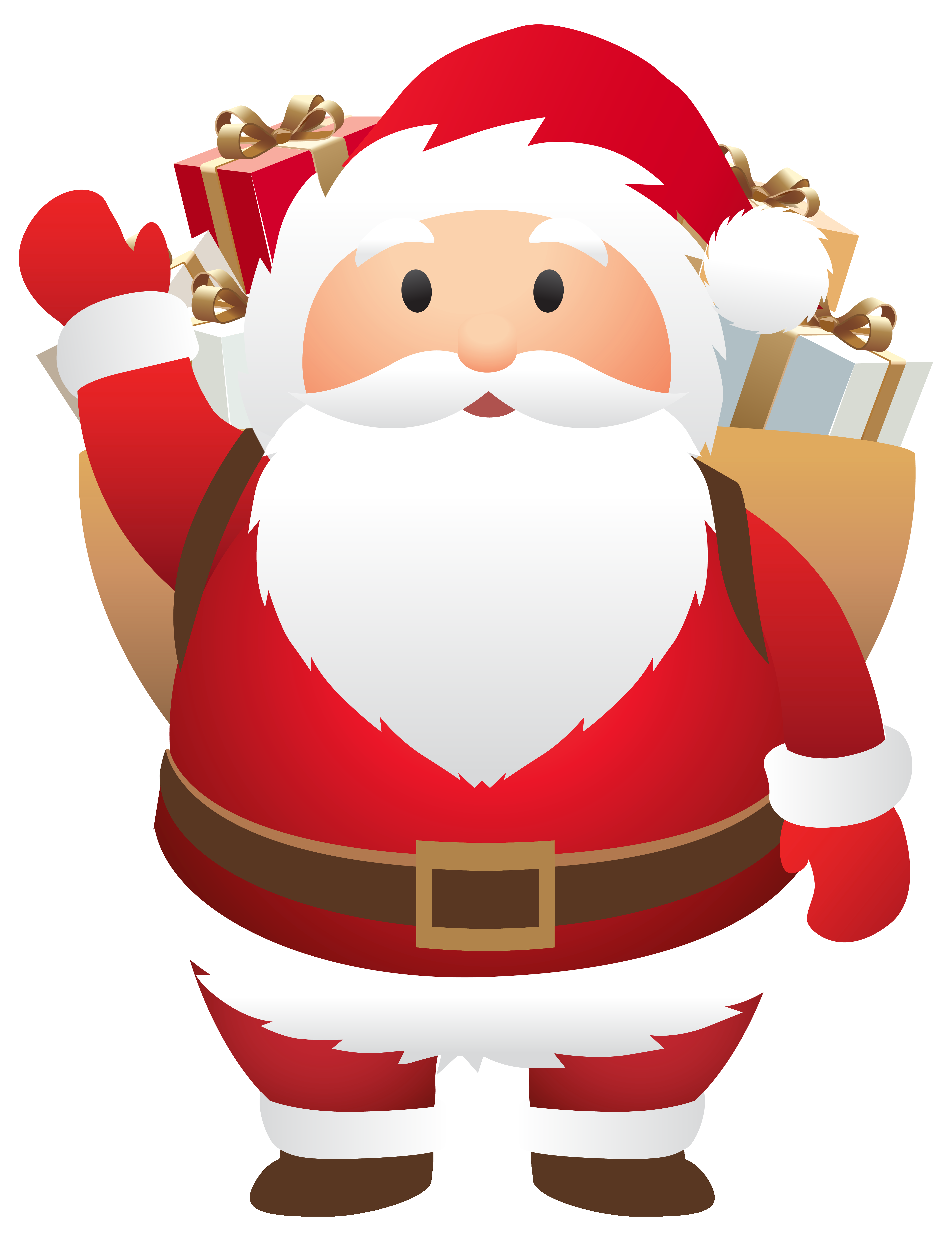graphic royalty free Claus clipart cute. Santa png image gallery.