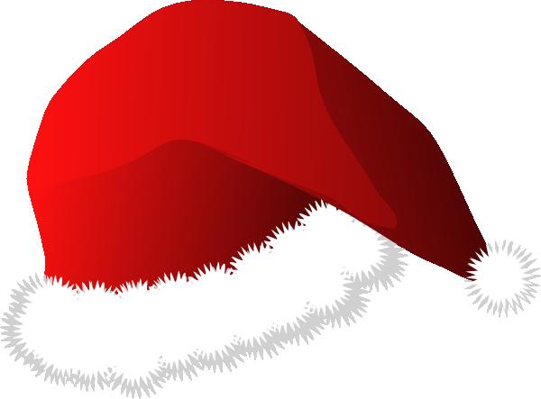 vector black and white stock santa hats clipart #67181396