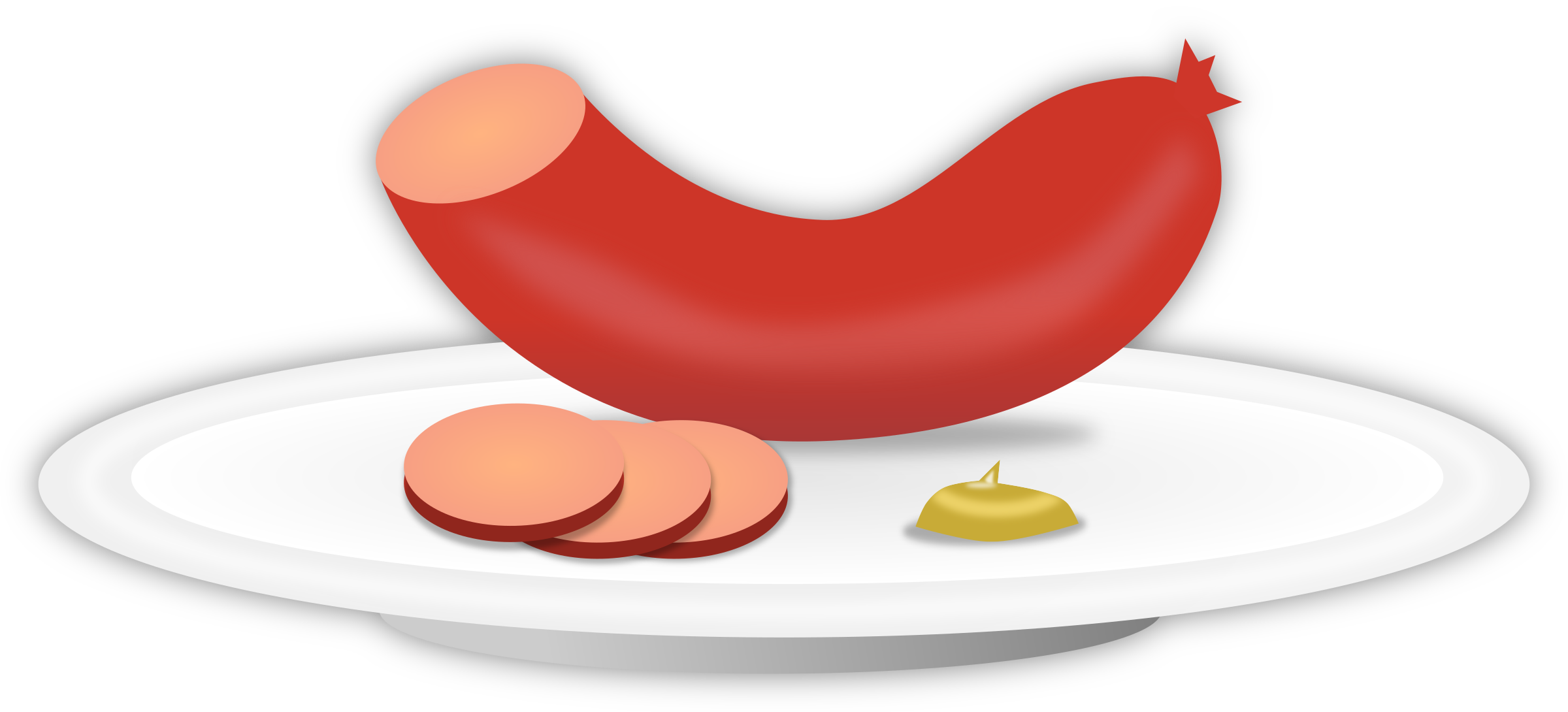 png freeuse library Clipart sausage. Big image png