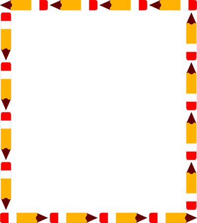 clip art free library Clipart school borders. Border images about education
