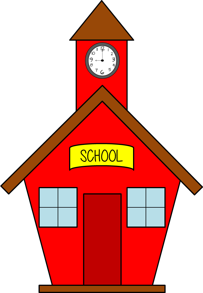 png library Schoolhouse clipart. Back to school free.
