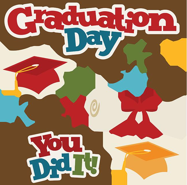 clipart library Graduation Day SVG Scrapbook Collection graduation svg file graduate