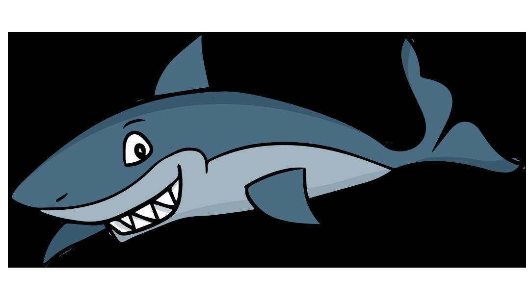 vector freeuse library Sharks clipart. Cartoon shark free .