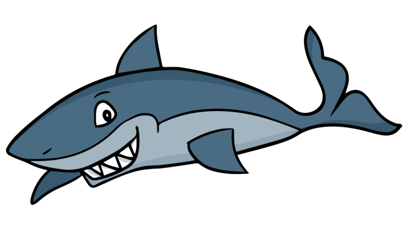 vector freeuse download Image of Shark Clipart